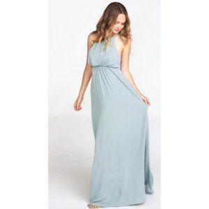 Show me your MuMu Amanda Maxi Dress Silver Sage